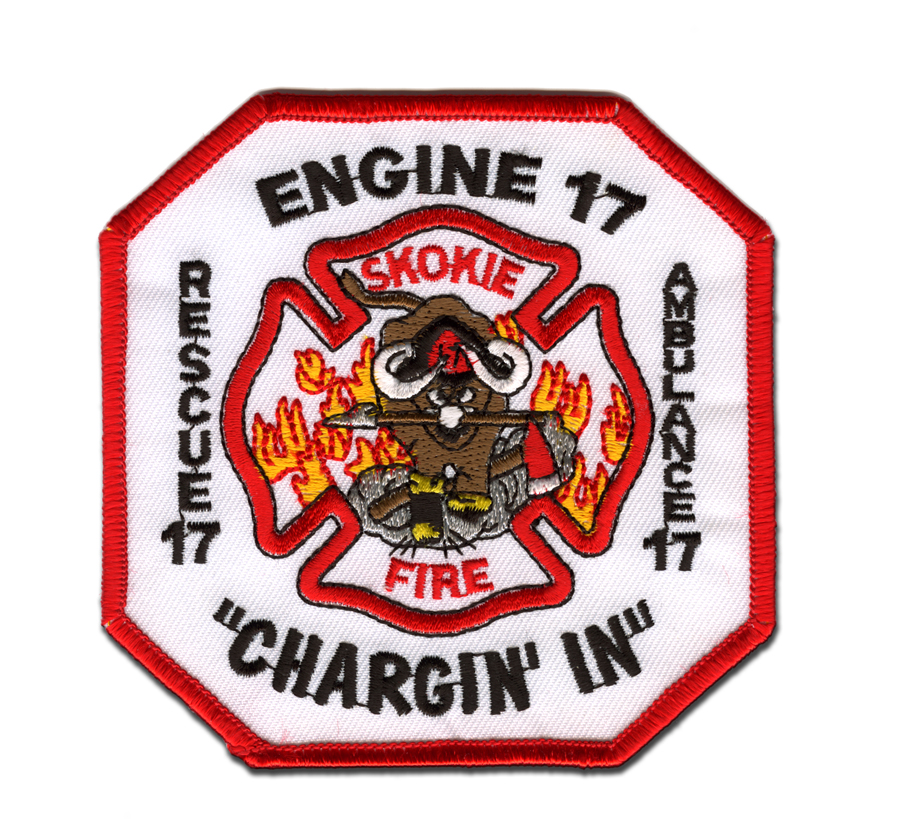 Skokie Fire Department Station 17 patch