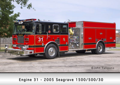 Streamwood Fire Department Engine 31