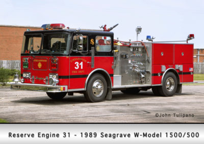 Streamwood Fire Department Engine 31R