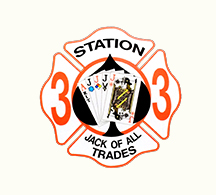Streamwood Fire Department Station 33 decal