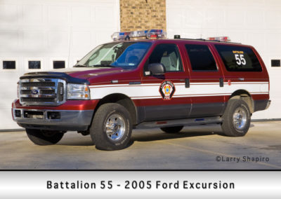 Long Grove FPD Battalion 55 - 2005 Ford Excursion