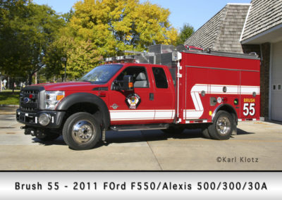 Long Grove FPD Brush 55 - 2011 Ford F550/Alexis 500/300/30A