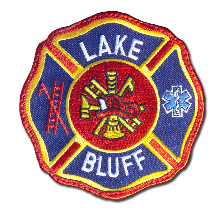 Lake Bluff Fire Department patch