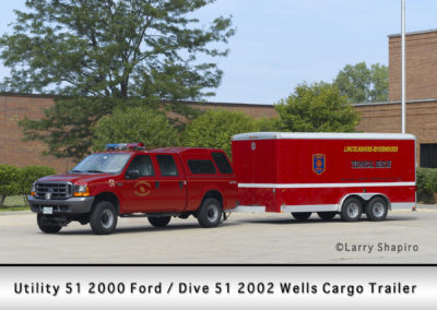 Lincolnshire-Riverwoods FPD - 2012 Wells Cargo trailer