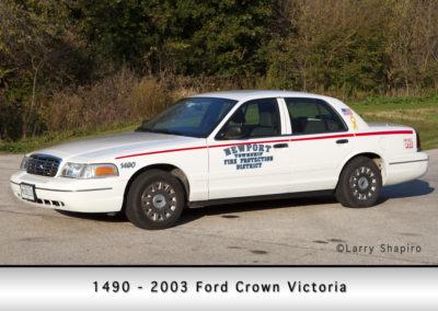 Newport Township FPD 1490 - 2003 Ford Crown Victoria