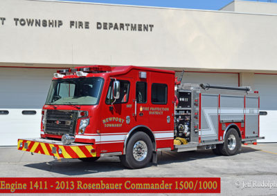 Newport Township FPD Engine 1411 - 2013 Rosenbauer Commander 1500-1000