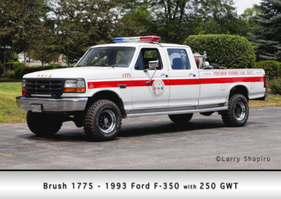 Winthrop Harbor Brush 1775 - 1993 Ford F350 250 gwt