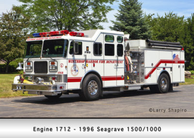 Winthrop Harbor Engine 1712 - 1996 Seagrave 1500/1000