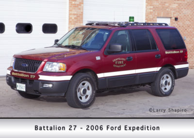Grayslake FD Battalion 27 - 2006 Ford Expedition