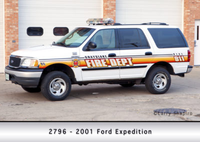 Grayslake FD 2796 - 2001 Ford Expedition