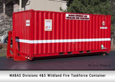 MABAS Divisions 4&5 Wildland Taskforce container