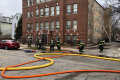Evanston FD 1-14-21 at 319 Dempster Street