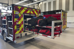 Rolling Meadows FD 2017 Ford F550 4-dr - Maintainer Custom Bodies rescue truck for sale