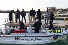 Waukegan Fire Department photo