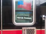 custom decal on fire engine