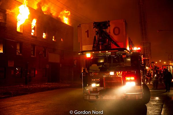 Chicago fire scenes