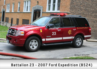 Chicago FD Battalion 23