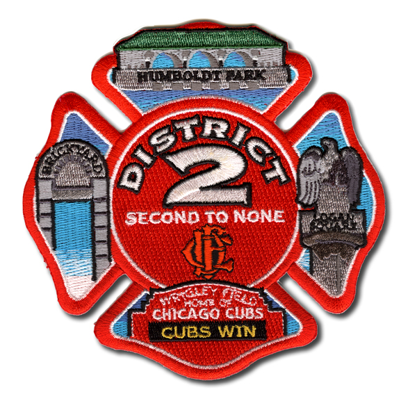 Chicago FD District 2 patch