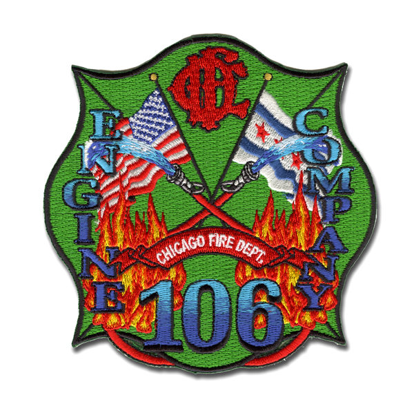 Chicago FD Engine 106's patch