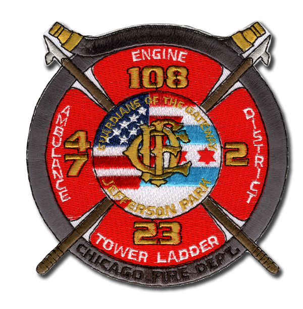 Chicago FD Engine 108's patch