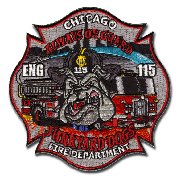 Chicago FD Engine 115's patch