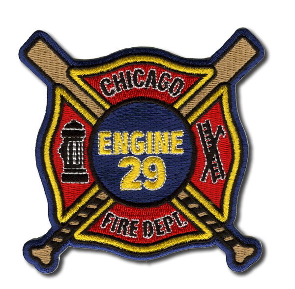 Chicago FD Engine 29's patch
