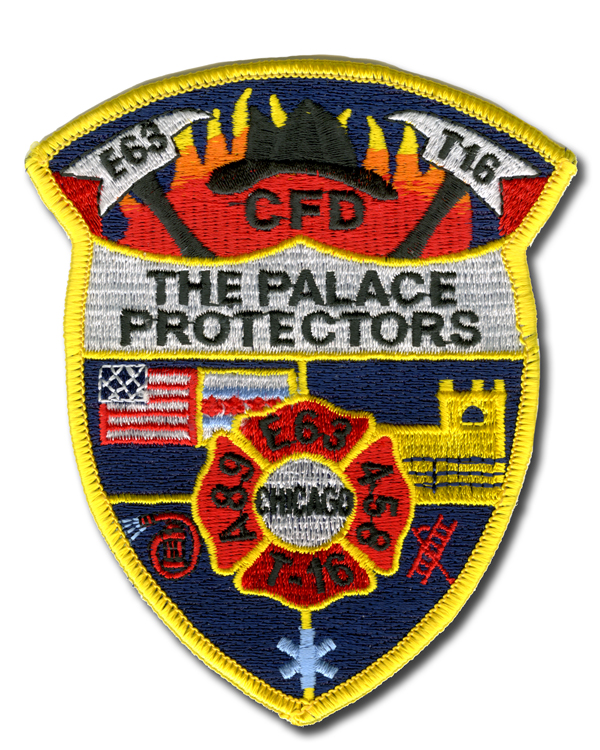 Chicago FD Engine 63's patch