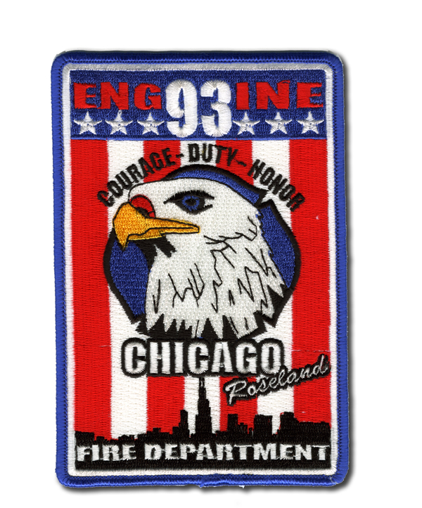 Chicago FD Engine 93's patch