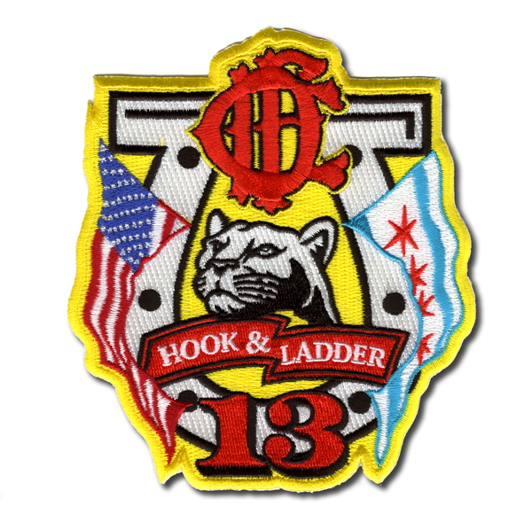Chicago FD Truck 13's patch