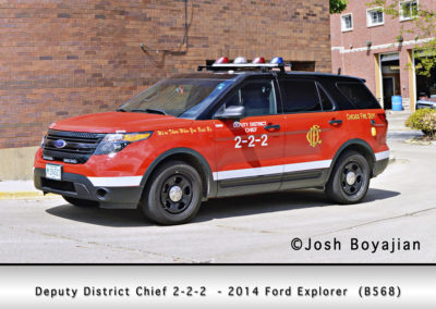 Chicago FD Deputy District Chief 2-2-2