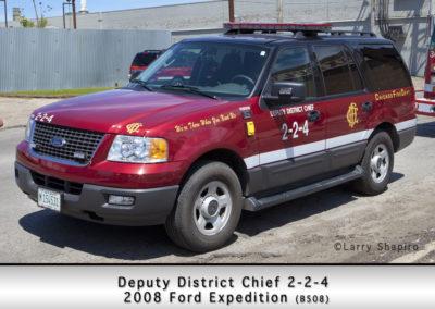 Chicago FD Deputy District Chief 2-2-4