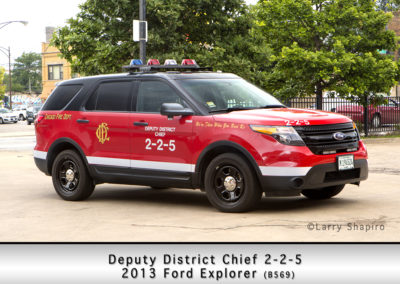 Chicago FD Deputy District Chief 2-2-5