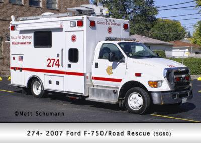 Chicago FD Comm Van 2-7-4