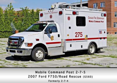 Chicago FD Comm Van 2-7-5