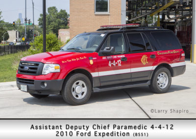 Chicago FD Assistant Deputy Chief Paramedic 4-4-12