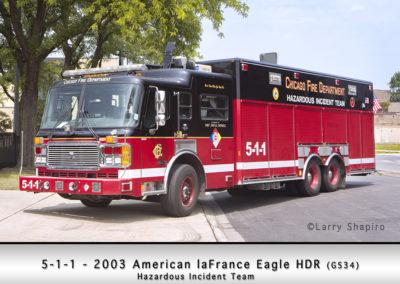 Chicago FD Hazardous Incident Team 5-1-1