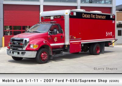 Chicago FD Hazardous Incident Team Mobile Lab 5-1-11