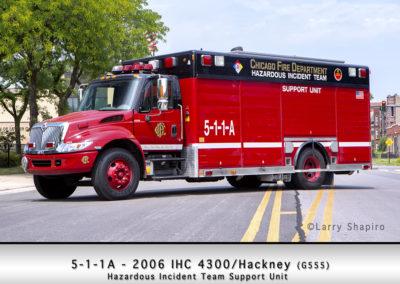 Chicago FD Hazardous Incident Team Support Unit 5-1-1A