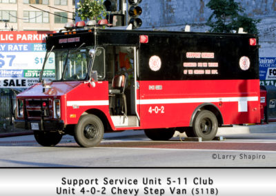 5-11 Club Support Service Unit 4-0-2