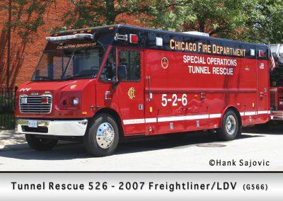 Chicago FD Tunnel Rescue 5-2-6