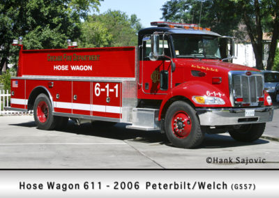 Chicago FD Hose Wagon 6-1-1