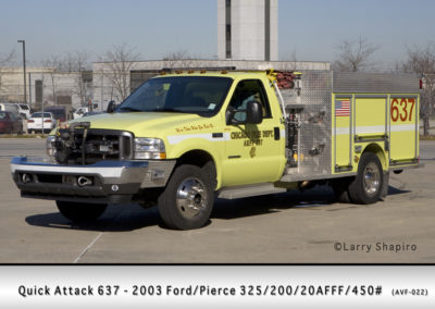 Chicago FD Quick Attack 6-3-7 at Midway Airport