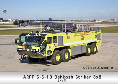 Chicago FD ARFF 6-5-10 at O'Hare Airport