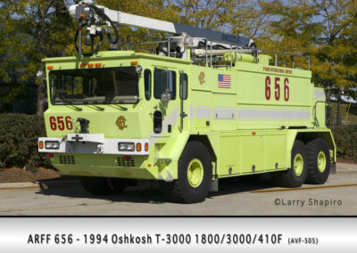 Chicago FD ARFF 6-5-6 at O'Hare Airport