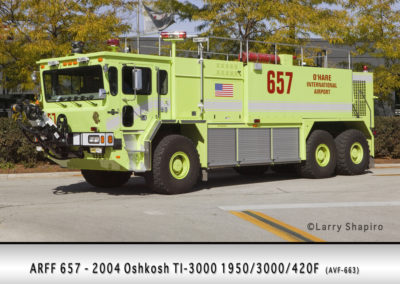 Chicago FD ARFF 6-5-7 at O'Hare Airport
