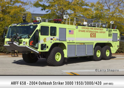 Chicago FD ARFF 6-5-8 at O'Hare Airport