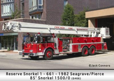 Chicago FD Reserve Snorkel 6-6-1