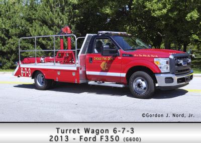Chicago FD Turret Wagon 6-7-3