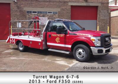 Chicago FD Turret Wagon 6-7-6