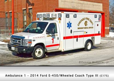 Chicago FD Ambulance 1